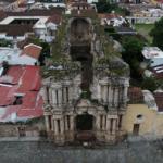 Foto aerea antigua guatemala drone DJI