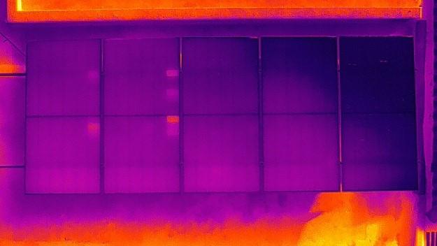Hotspot panel solar